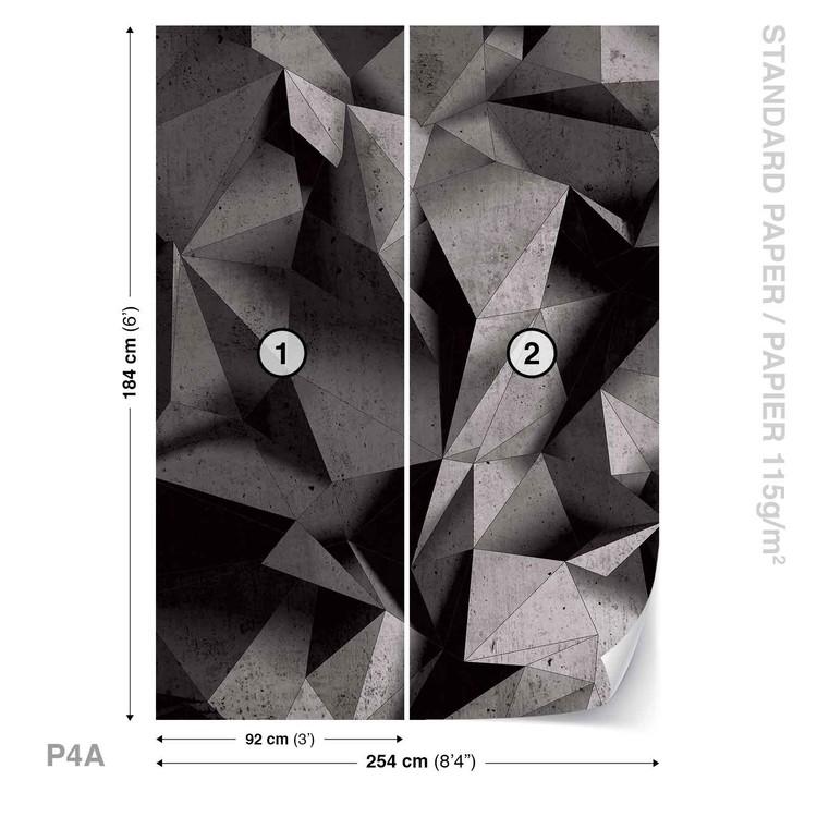 Modern Abstract Geometric Art Fototapeta
