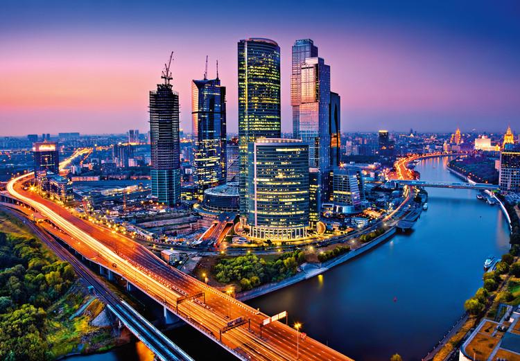 MOSCOW TWILIGHT Fototapeta