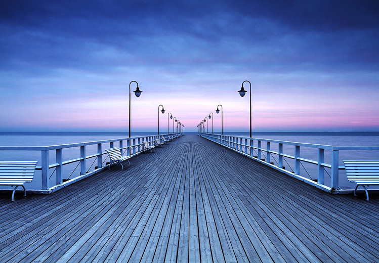 Fototapeta Pier at the Seaside