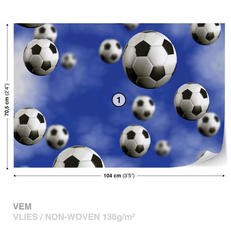 Piłka nożna Fototapeta