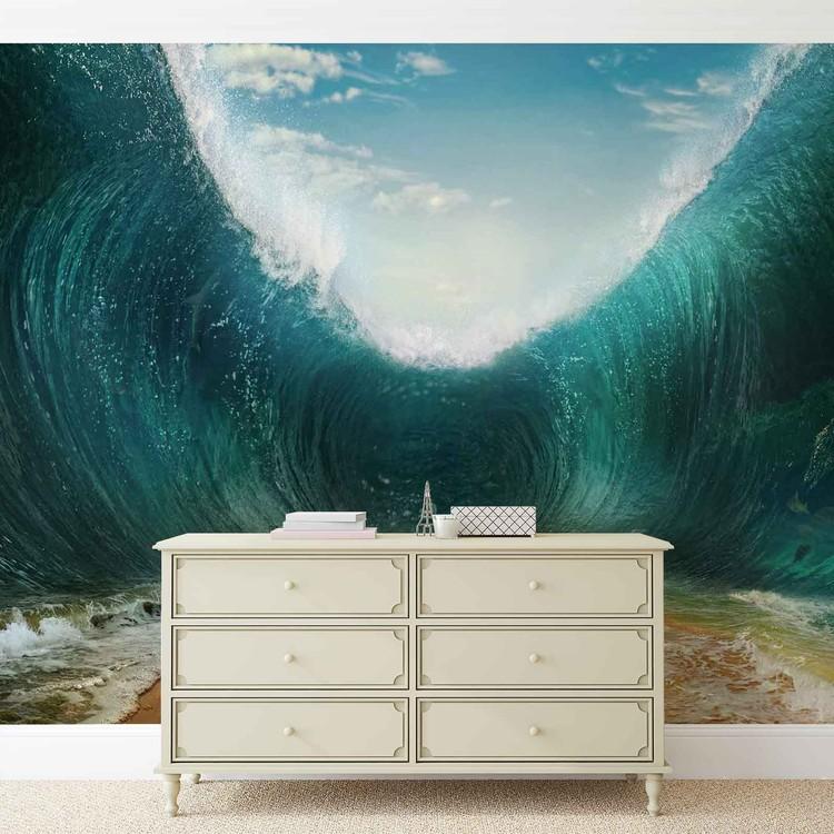 Fototapeta  Pláž - Mořské vlny