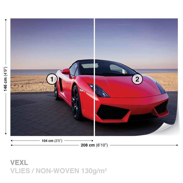 Fototapeta Sportovní auto