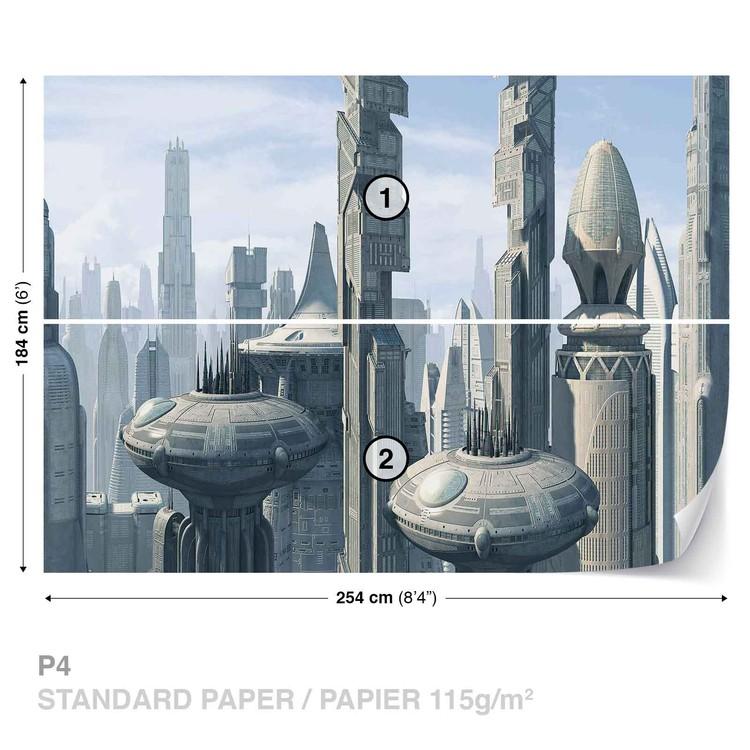 Fototapeta  Star Wars planeta Coruscant