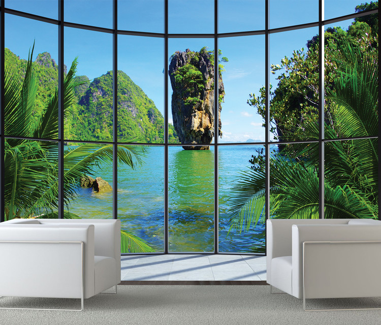 Tajlandia - Window Fototapeta