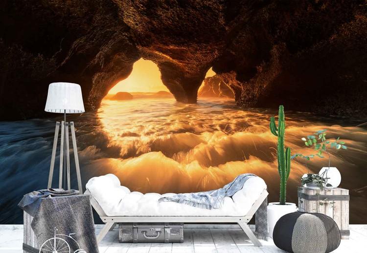The Secret Sea Cave Fototapeta