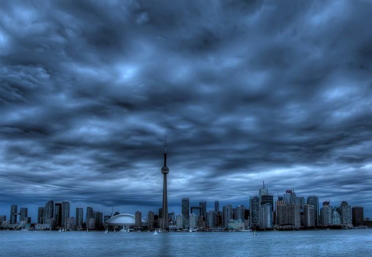 Fototapeta  Toronto Blue