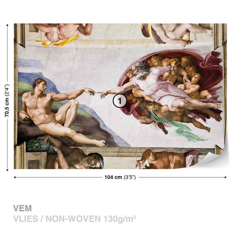 Fototapeta  Tvorba Adam Art Michelangelo