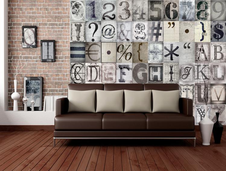 Fototapeta  Typography