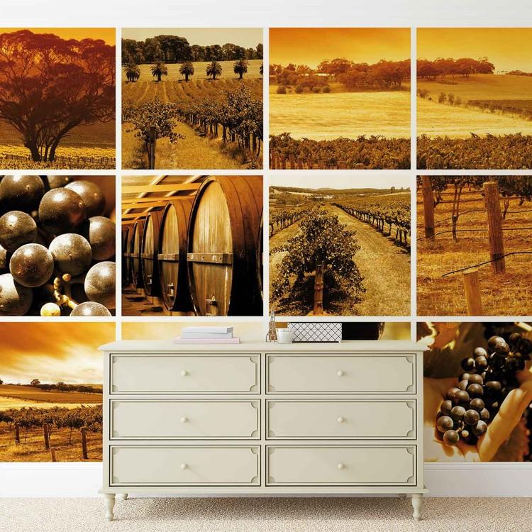 Fototapeta Víno, sud vína