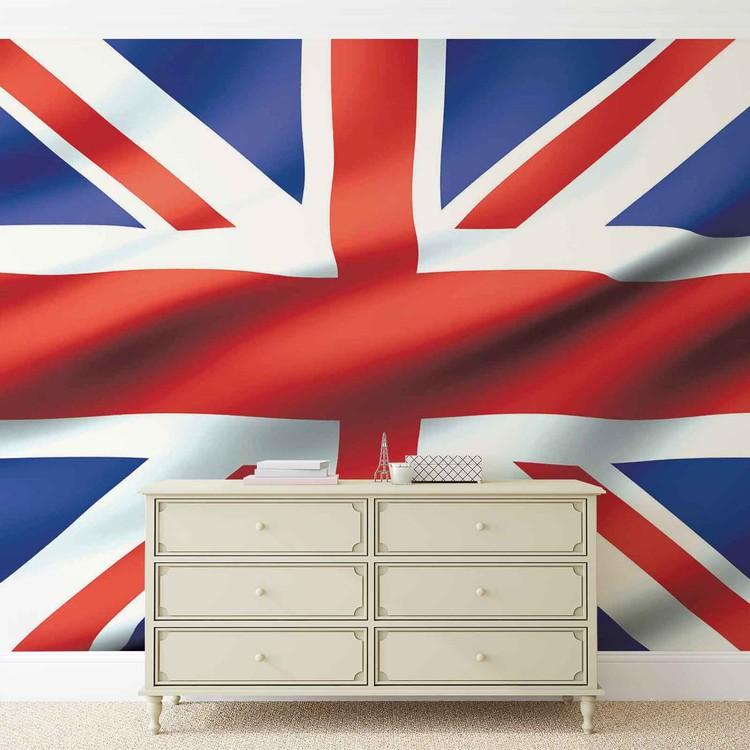 Fototapeta  Vlajka Velká Británie UK