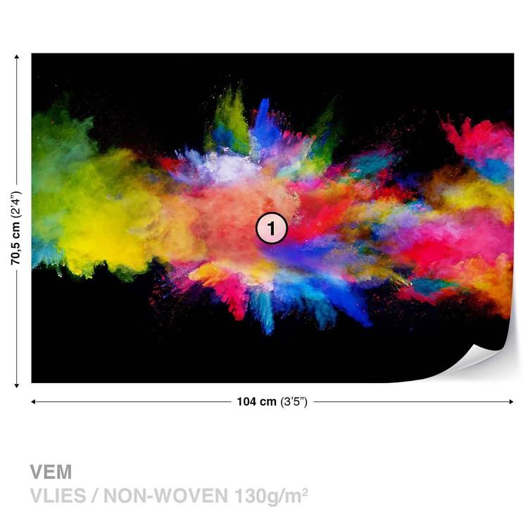 Fototapeta Výbuch barev