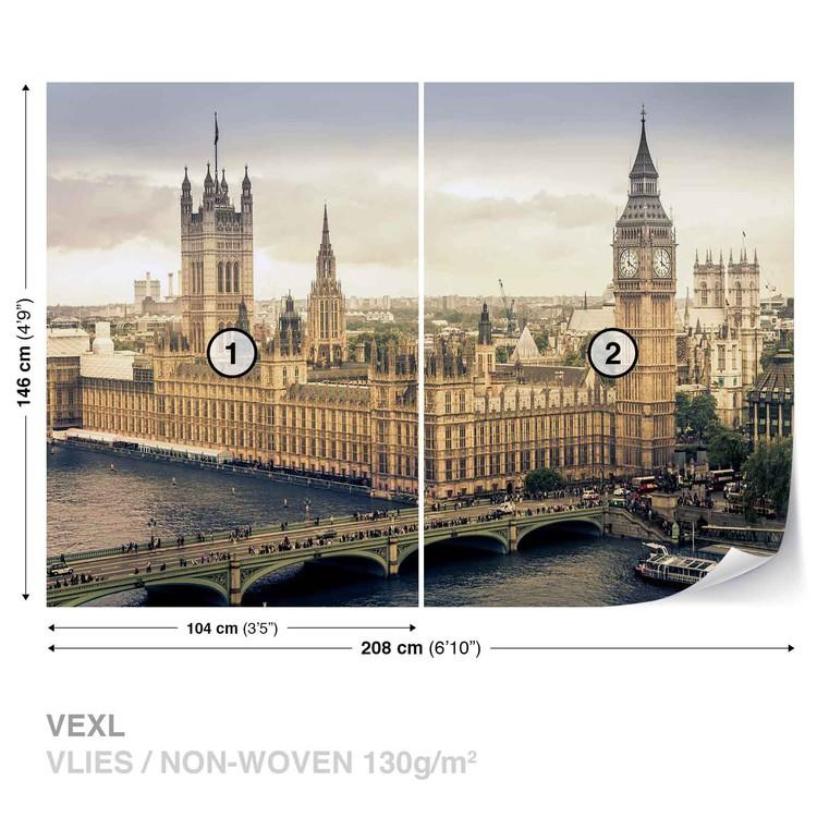 Fototapeta Výhled na Londýn