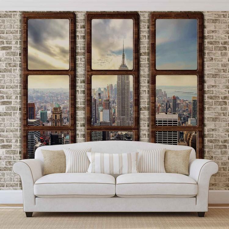 Fototapeta  Výhled na New York