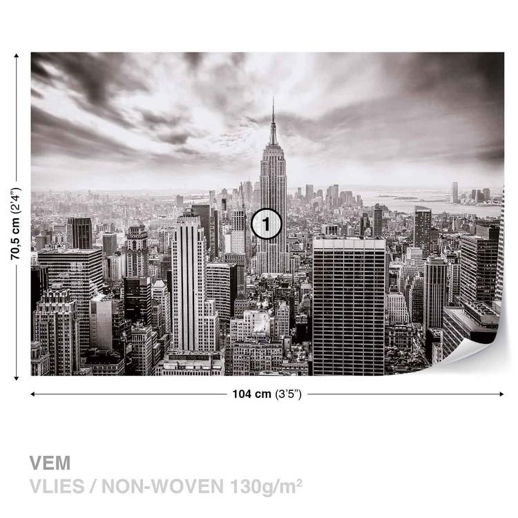 Fototapeta  Výhled z okna na New York