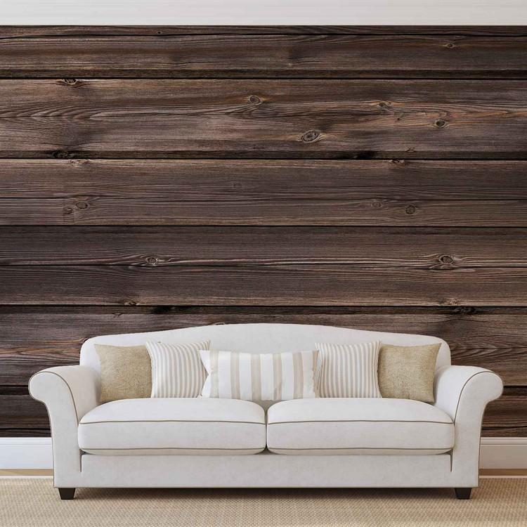 Fototapeta  Vzor - hnědé dřevo