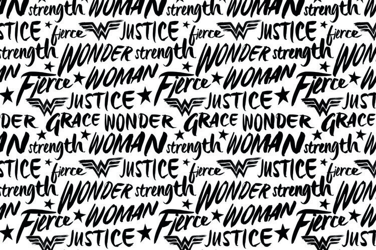 Wonder Woman - Justice Fototapeta