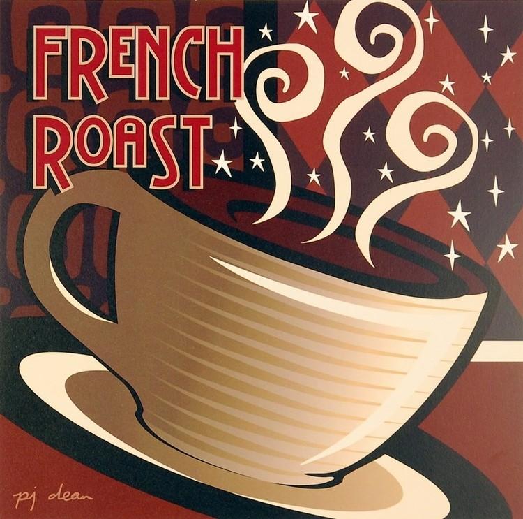 French Roast Festmény reprodukció
