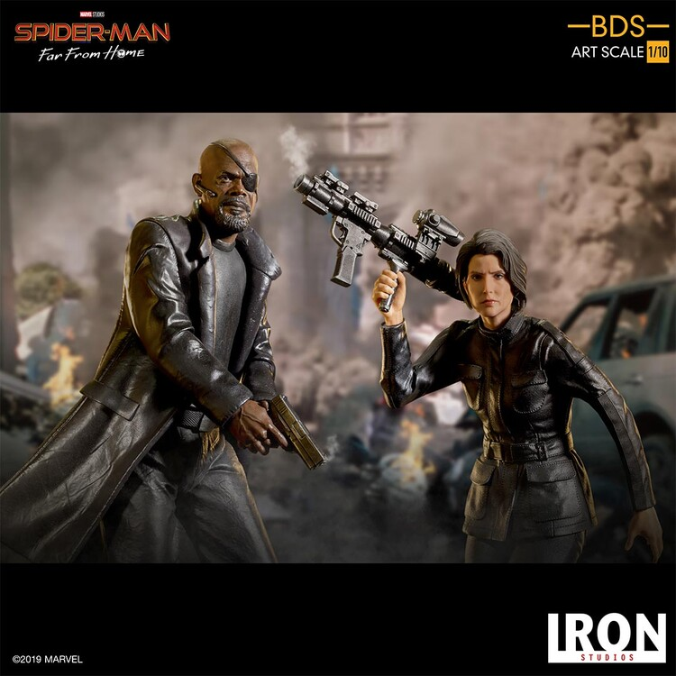 Figurka Spiderman: Far From Home - Nick Fury