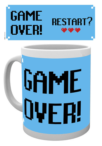 Taza Gaming - Game Over