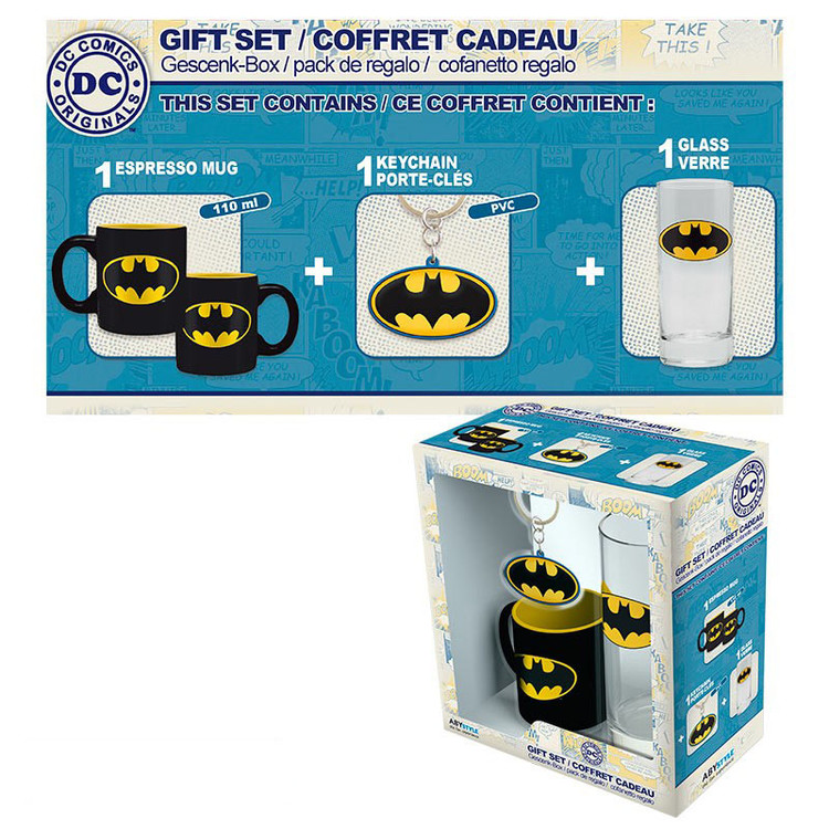 Set de regalo  DC Comics - Batman