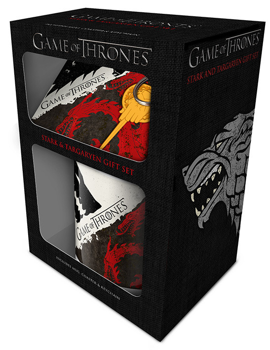 Set de regalo Game of Thrones - Stark and Targaryen