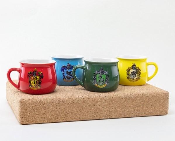 Harry Potter - House Crests Set cadou