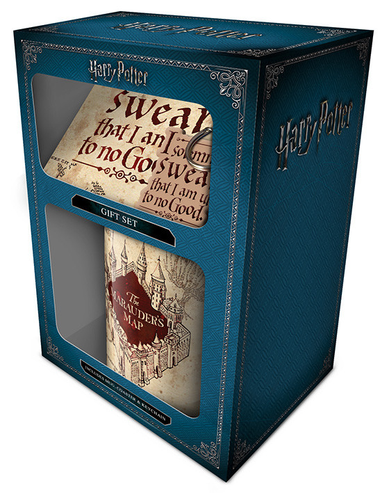 Dárkový set  Harry Potter - Marauders Map
