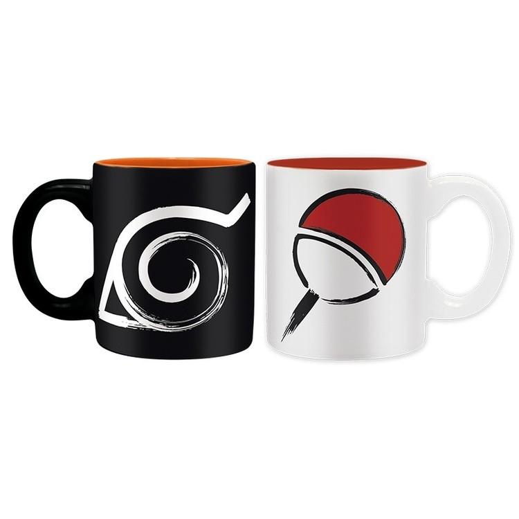 Set de regalo Naruto Shippuden - Konoha & Uchiha