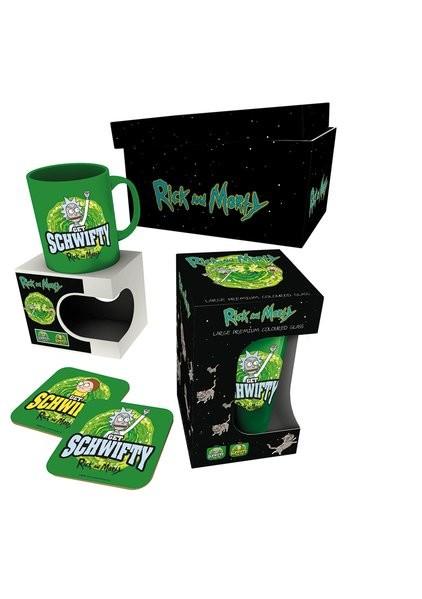 Set de regalo  Rick and Morty - Get Schwifty