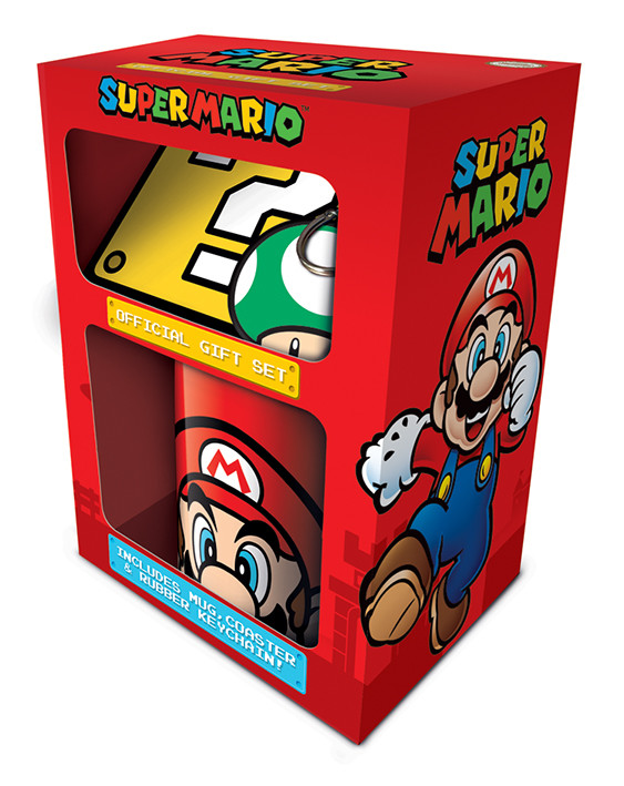 Dárkový set  Super Mario - Mario