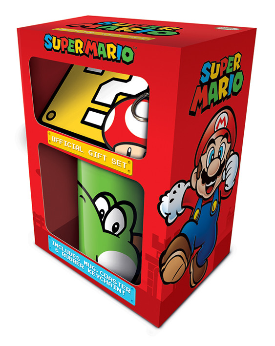 Dárkový set  Super Mario - Yoshi