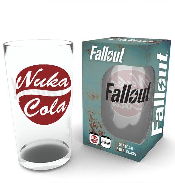 Fallout - Nuka Cola Glas
