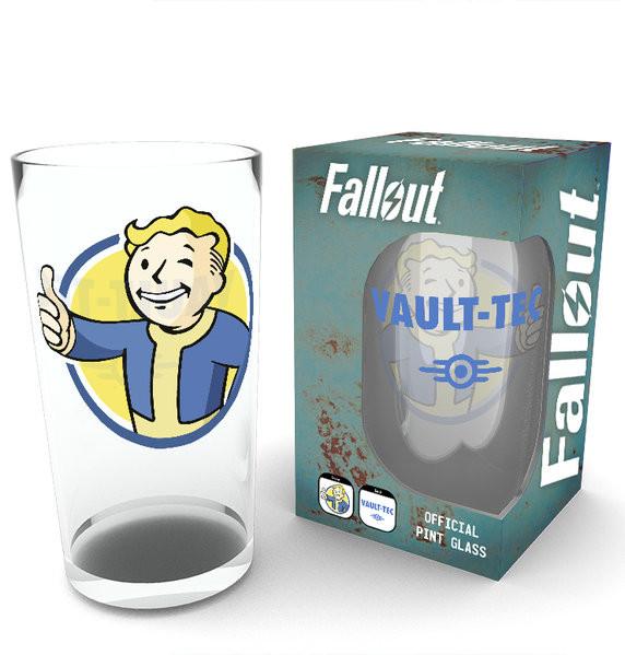 Glas Fallout - Vault Boy