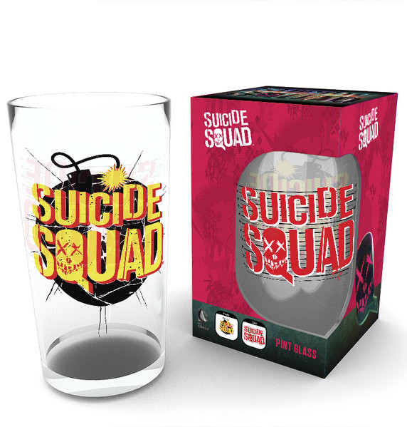 Glas Suicide Squad - Bomb