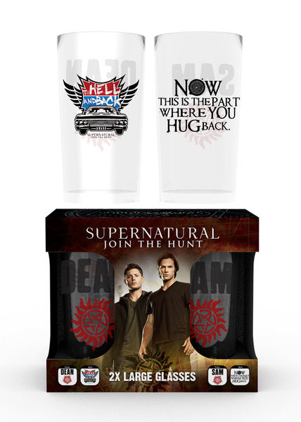 Glas Supernatural - Dean and Sam