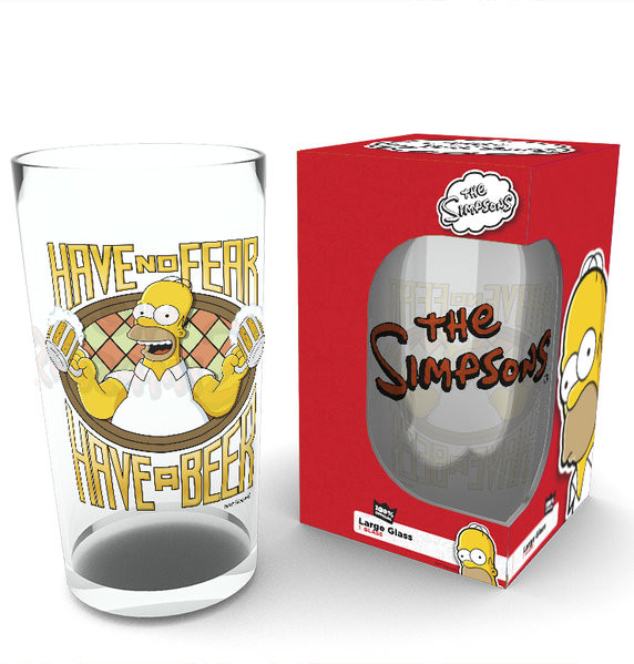 The Simpsons - Have A Beer Glas