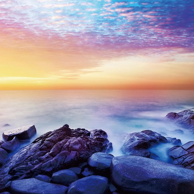 Glasbilder Sea - Sunny Bay