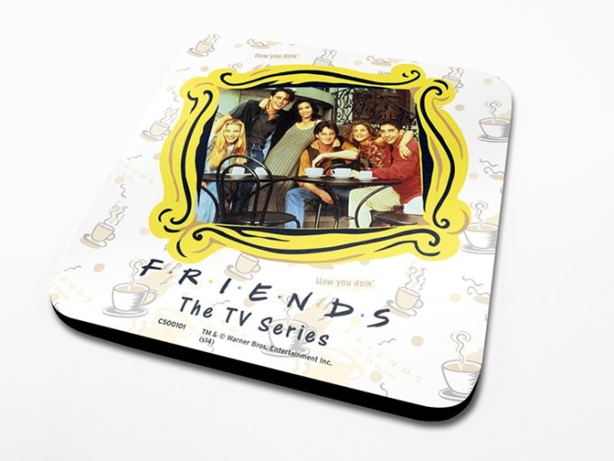 Friends TV - Framed Glassbrikke