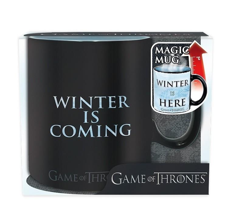 Kubek Gra o tron - Winter is here