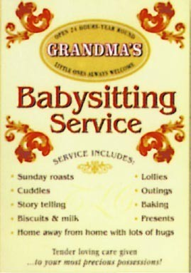 GRANDMA'S - Babysitting service Metalplanche