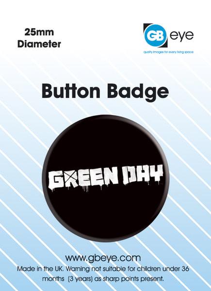 Green Day - logo Insignă