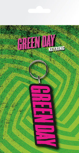 Green Day - Logo Breloc