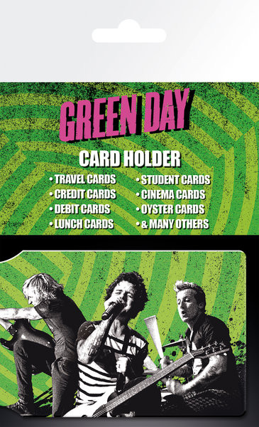 GREEN DAY - Tour Portcard