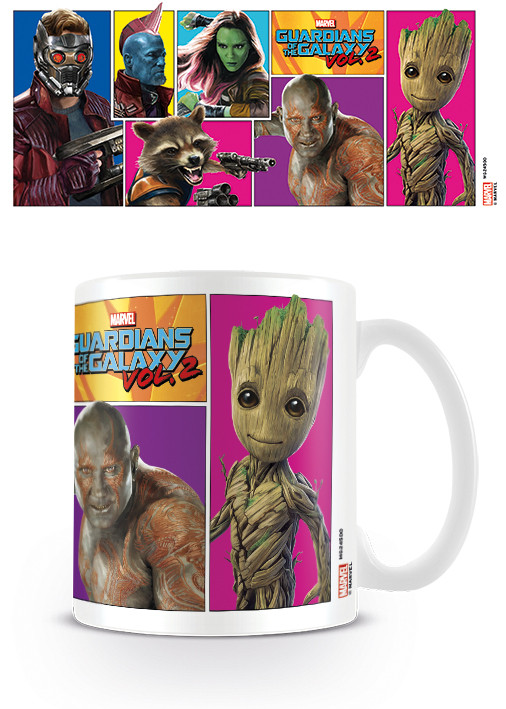 Taza Guardianes de la Galaxia Volumen 2 - Comic Panels