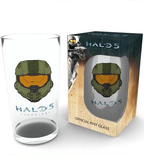 Sklenice Halo 5 - Mask