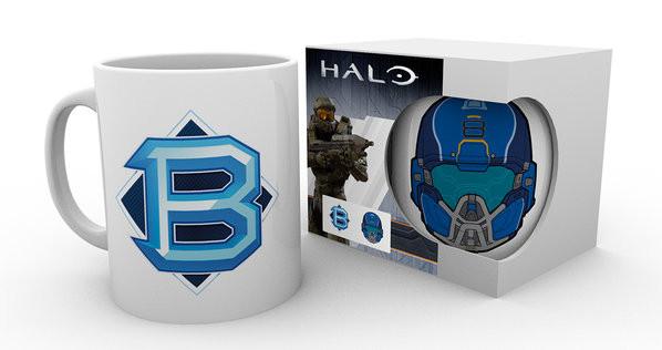 Taza Halo 5 - PVP Blue
