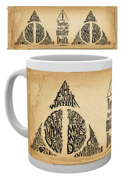Hrnek Harry Potter - Deathly Hallows Words