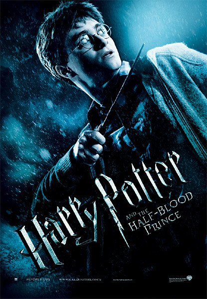 Harry Potter en de Halfbloed Prins - Harry with Magic Wand Plakater