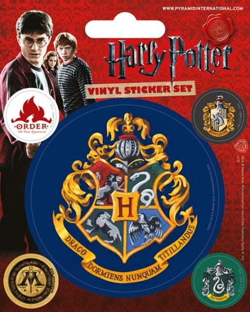 Harry Potter - Hogwarts Autocolant