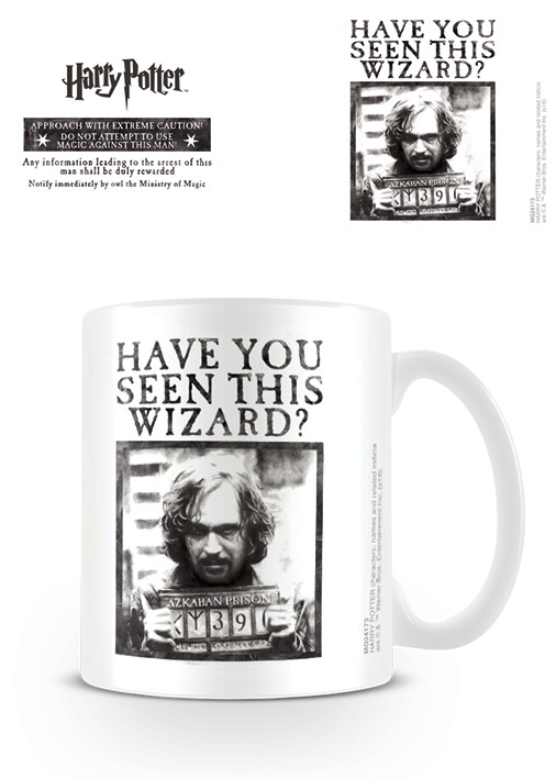 Taza Harry Potter - Wanted